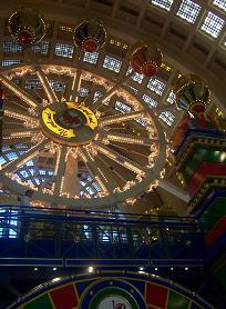 Big wheel in the Abasto shopping center