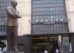 Carlos Gardel in his 'hood' of Abasto