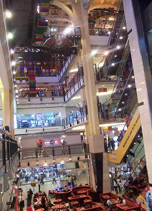 Inside Abasto shopping