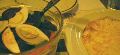Food at Bar El Federal