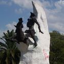 Sculpture of Don Quijote de la Mancha
