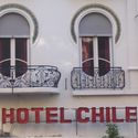 Art Nouveau Facade of the Hotel Chile
