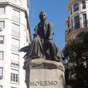 Staue of Mariano Moreno, 1st Secretary of the Independent Argentina