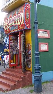 The most famous corner in Caminito