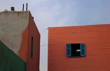 Conventillo Housing in Caminito, La Boca