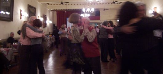 Dancing up a tango storm at Chique