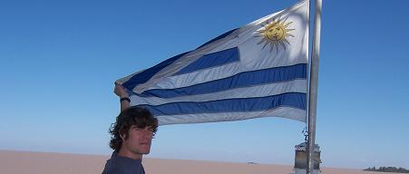 Yes, that's right, we're going to Uruguay
