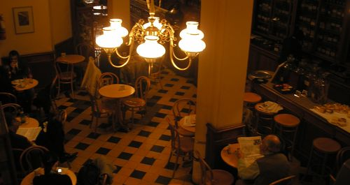 Inside El Gato Negro Cafe