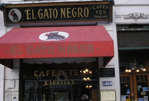 El Gato Negro Cafe and Spice shop