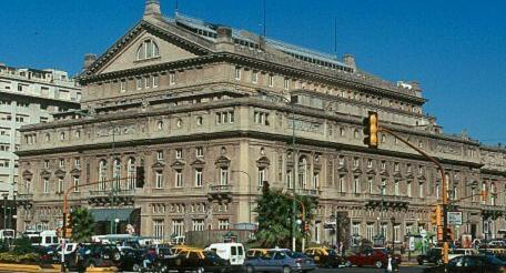 Exterior of the Teatro Colon