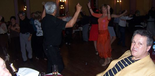 Cherie and Ruben dance the Chacarera