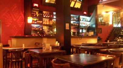 The bar in Morelia, Palermo Hollywood