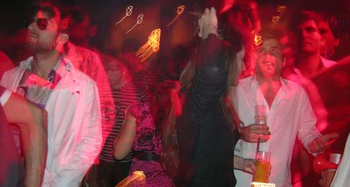 Going loco on the dancefloor at Rumi, Buenos Aires