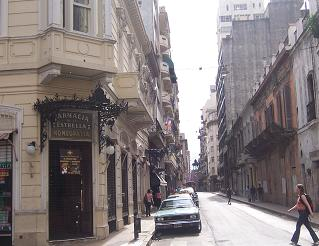 Why, if it isn't your typical street in San Telmo or Monserrat