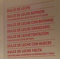Dulce de Leche flavors at Un Altra Volta
