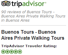 BuenosTours 5/5 Rating on TripAdvisor