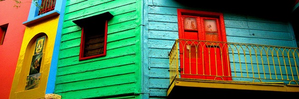 Caminito: the picture postcard view of La Boca, Buenos Aires