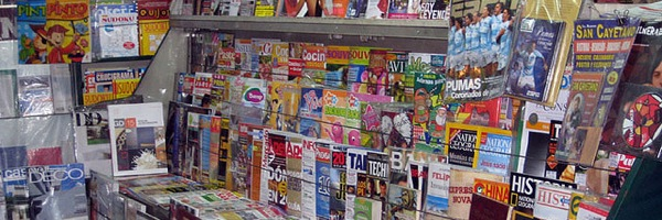 Kioscos are the place to pick up newspapers & magazines in Buenos Aires