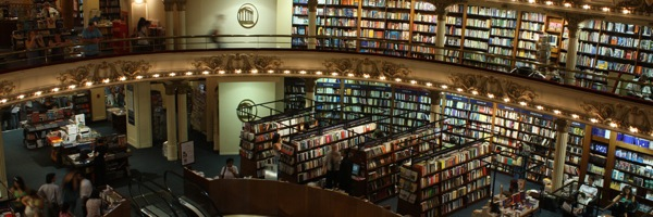 The most remarkable bookstore in Buenos Aires, if not the world