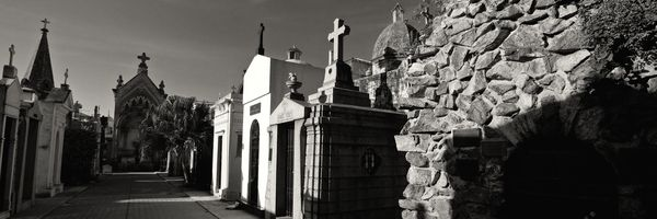 The famous cemetery in Recoleta, Buenos Aires
