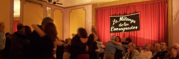 Typical Milonga in Buenos Aires