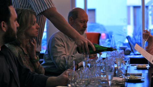 Generous, endless pours at Anuva's wine tasting in Buenos Aires