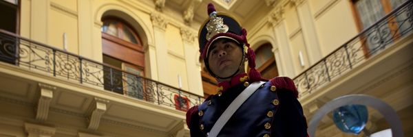You might not always have an Argentine Mounted Grenadier watching over your safety in Buenos Aires!