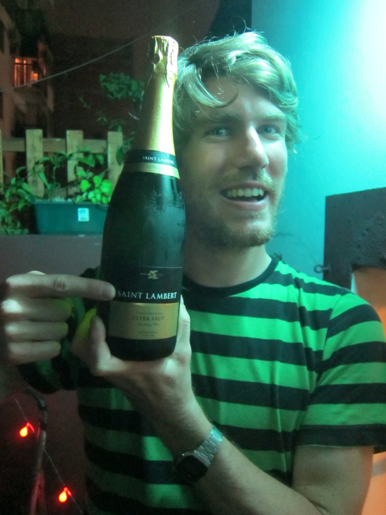 Buenos Aires sparkling wine