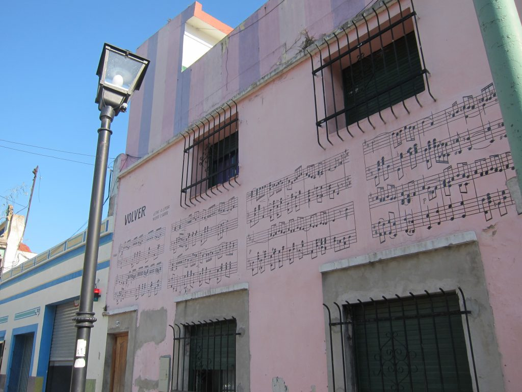 Gardel lyrics Pasaje Zelaya