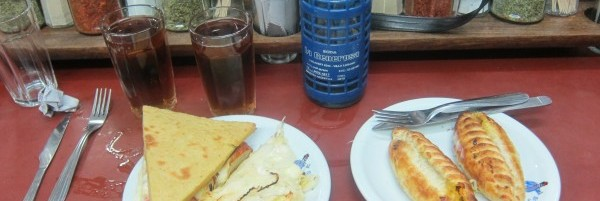 Moscato, Pizza, Faina, Empanadas and other Argentine foods & condiments