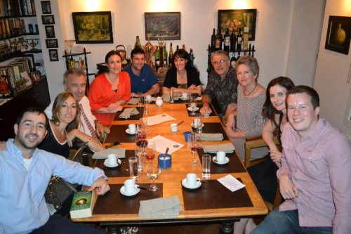 Diners at Casa SaltShaker 'closed door' restaurant in Buenos Aires