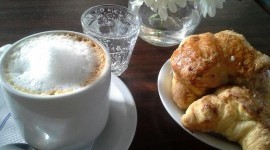 Coffee and croissants, Buenos Aires