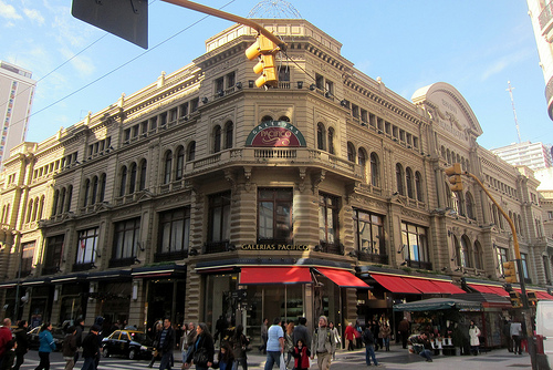 beautiful shopping malls in buenos aires