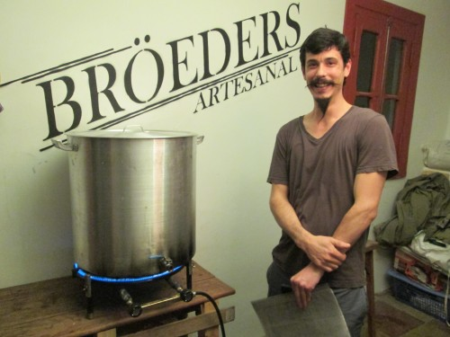 Francisco Terran of Broeders Beer