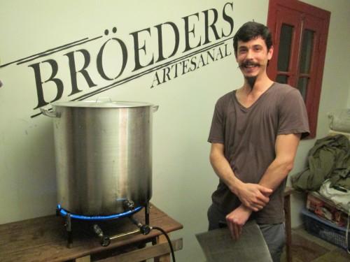 Francisco Terren of Broeders Beer