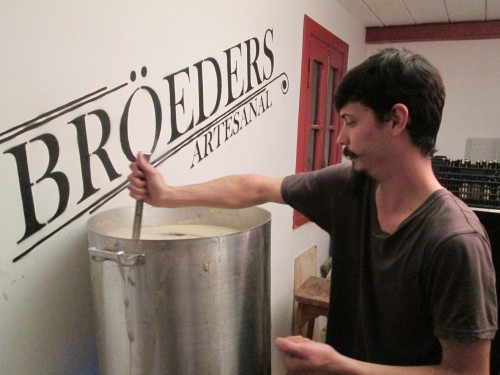 Brewing Broedsers beer in Buenos Aires