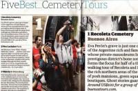 Buenos Aires Recoleta & Cemetery Tour