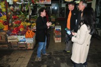 Touring the old San Telmo market