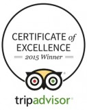 BuenosTours 2015 Certificate of Excellence from TripAdvisor