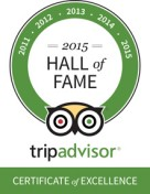TripAdvisor Hall of Fame Certificate 2015 for BuenosTours