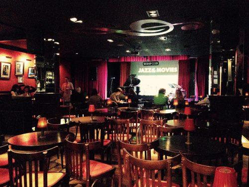 Bebop Club's lounge area