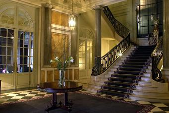 Staircase inside the Four Seasons Buenos Aires