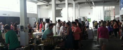 Buenos Aires Underground Market Tables