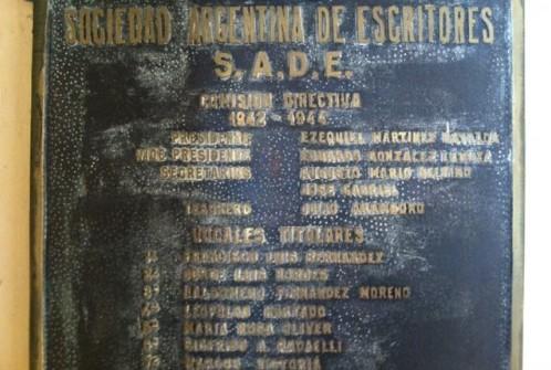 Borges Plaque