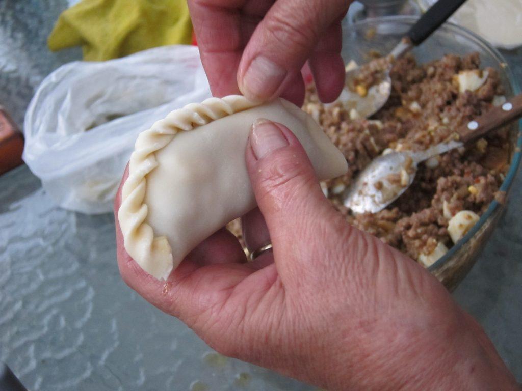 Folding Empanadas