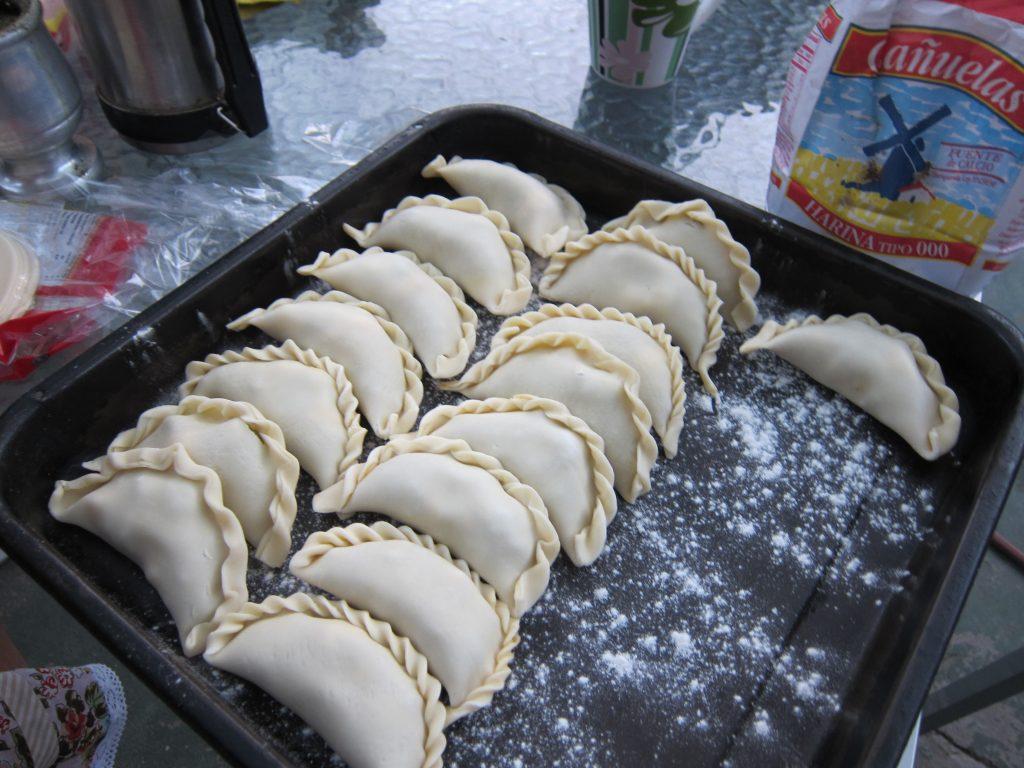 Making Empanadas